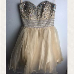 Pretty, sparkly, and poofy party dress !